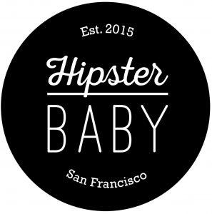Hipster Baby Logo