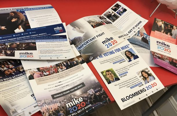 Mike Bloomberg Mailers